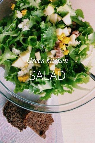 SALAD Green kitchen