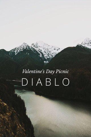 DIABLO Valentine's Day Picnic