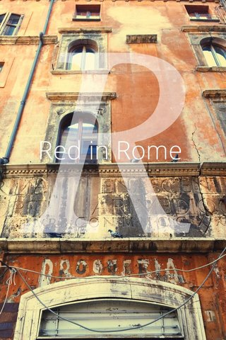 Red in Rome R