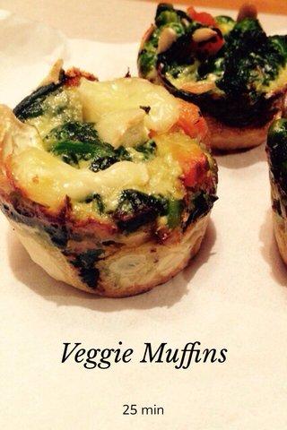 Veggie Muffins 25 min