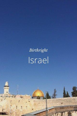 Israel Birthright