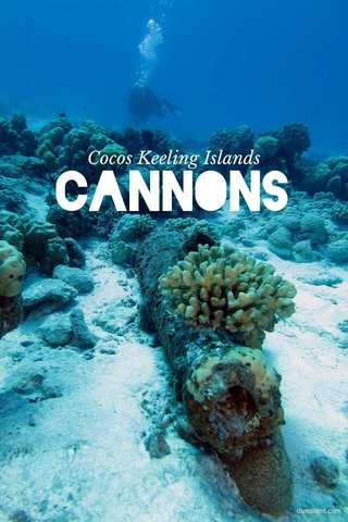 CANNONS Cocos Keeling Islands