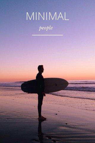 MINIMAL people