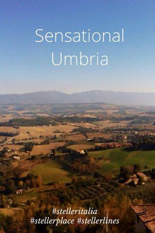 Sensational Umbria #stelleritalia #stellerplace #stellerlines