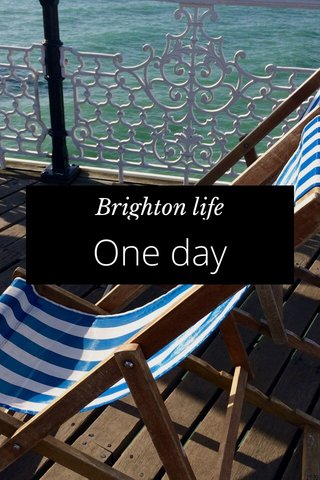 One day Brighton life