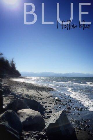 BLUE I follow blue