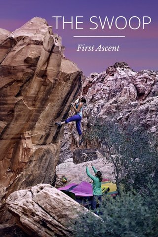 THE SWOOP First Ascent