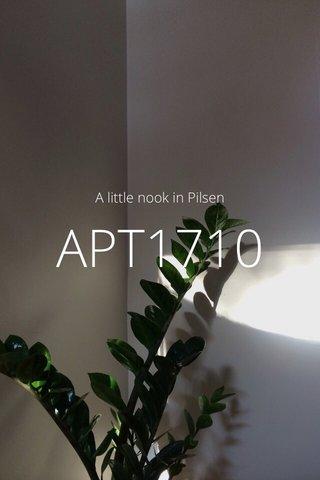 APT1710 A little nook in Pilsen