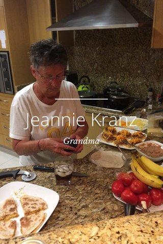 Jeannie Kranz Grandma