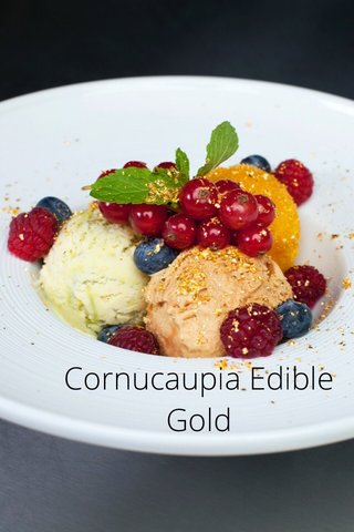 Cornucaupia Edible Gold