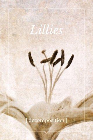 Lillies | decomposition |