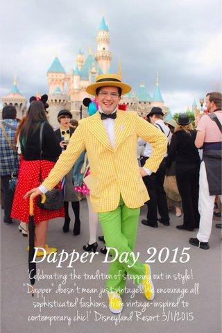 Dapper Day 2015