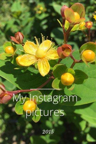 My Instagram pictures 2015