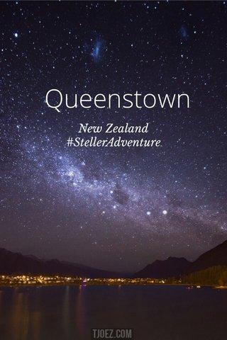 Queenstown New Zealand #StellerAdventure