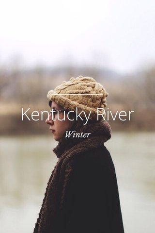 Kentucky River Winter