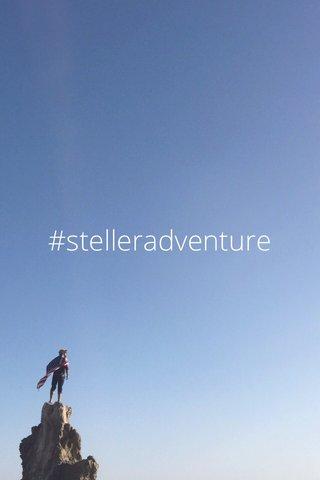 #stelleradventure