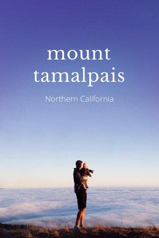 mount tamalpais Northern California