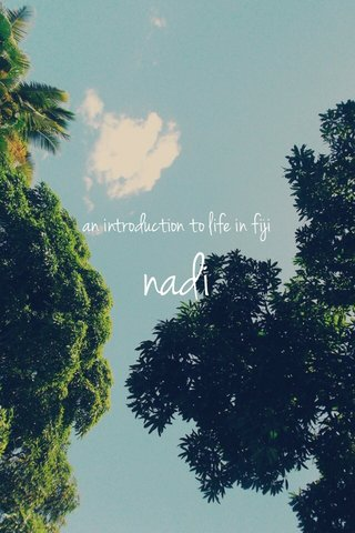 nadi an introduction to life in fiji