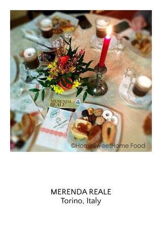 MERENDA REALE Torino, Italy