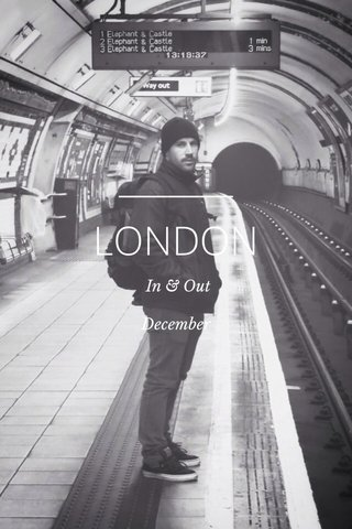LONDON In & Out December
