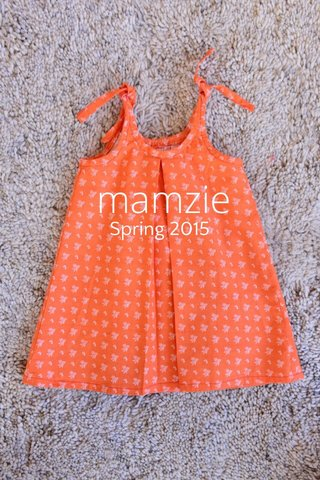 mamzie Spring 2015