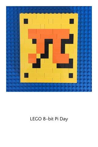 LEGO 8-bit Pi Day