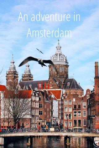 An adventure in Amsterdam