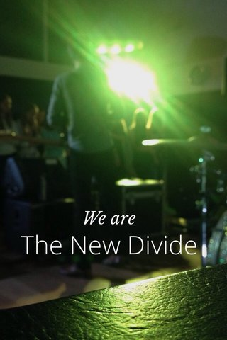 The New Divide We are