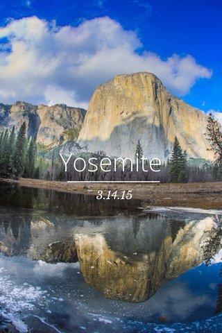 Yosemite 3.14.15