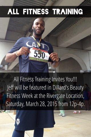 All Fitness Training