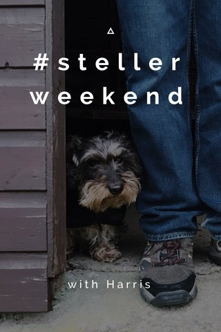 #stellerweekend with Harris