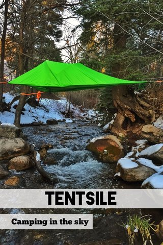 Tentsile Camping in the sky