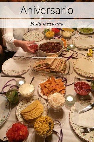Aniversario Festa mexicana