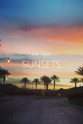 SUNSETS Las Vegas