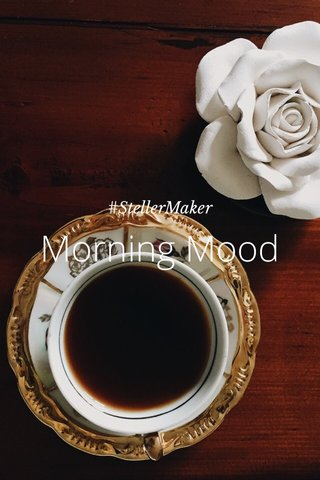 Morning Mood #StellerMaker