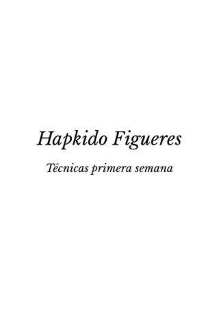 Hapkido Figueres Técnicas primera semana Ki Hop Figueres
