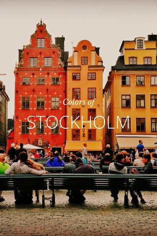 STOCKHOLM Colors of