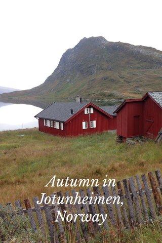 Autumn in Jotunheimen, Norway