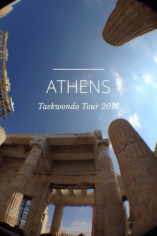 ATHENS Taekwondo Tour 2015
