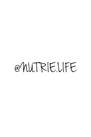 @NUTRIE.LIFE