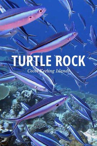 TURTLE ROCK Cocos Keeling Islands
