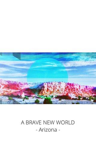 A BRAVE NEW WORLD - Arizona -