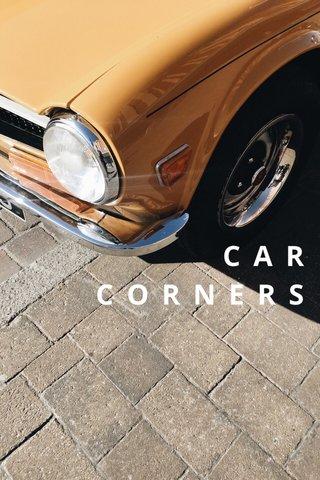 C A R C O R N E R S #creative #carcorners