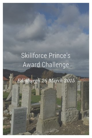 Skillforce Prince's Award Challenge Edinburgh 26 March 2015