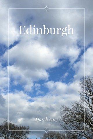Edinburgh March 2015