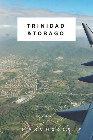TRINIDAD &TOBAGO MARCH2015