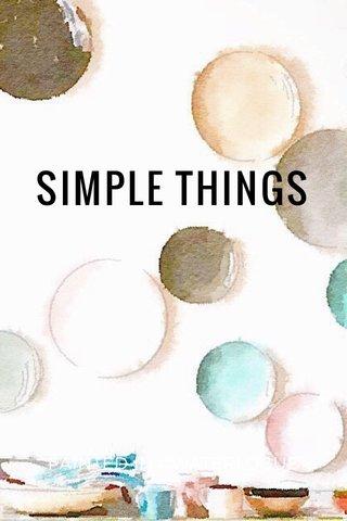 SIMPLE THINGS PAINTED IN #WATERLOGUE