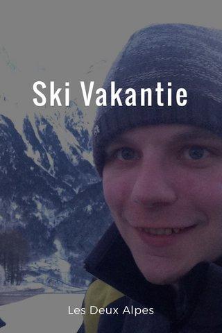 Ski Vakantie Les Deux Alpes