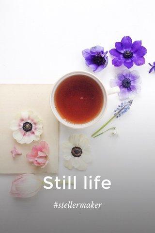 Still life #stellermaker
