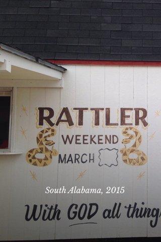 South Alabama, 2015